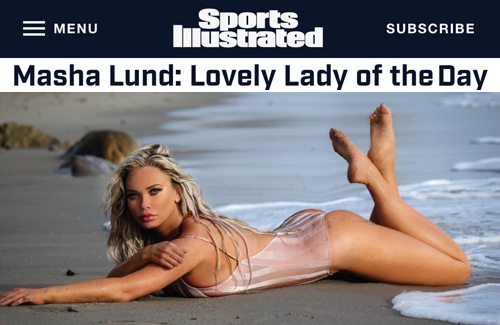 Masha Lund - Sports Illustrated